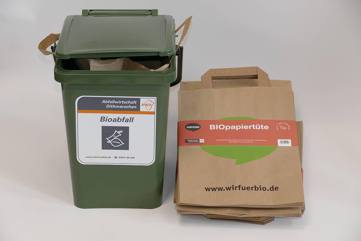 Biomüll - Abfallwirtschaft Dithmarschen